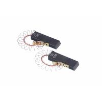 Щетки электродвигателя 5*12,5*32,5 mm шнур посредине с пружиной двухслойные 00154740
