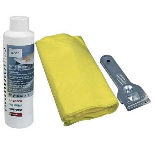 Комплект для чистки стеклокерамики Bosch 00311502