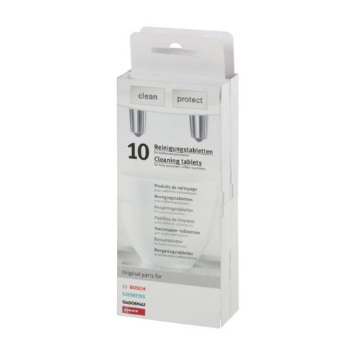 Таблетки для чистки от кофейного жира Bosch 00311769