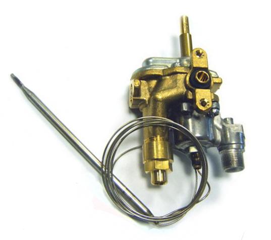 3577229093 Кран газовой духовки с термостатом для газовых плит Electrolux-AEG-Zanussi