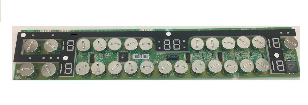 3875037644 Плата индикации к электрической варочной поверхности Electrolux, Zanussi, AEG