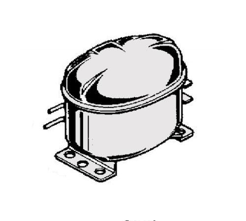 4071438651 Компрессор для холодильника Electrolux  AEG   Zanussi