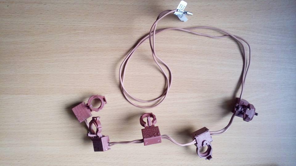 3570741037 Контактная группа электроподжига для газовых плит AEG, Electrolux, Zanussi
