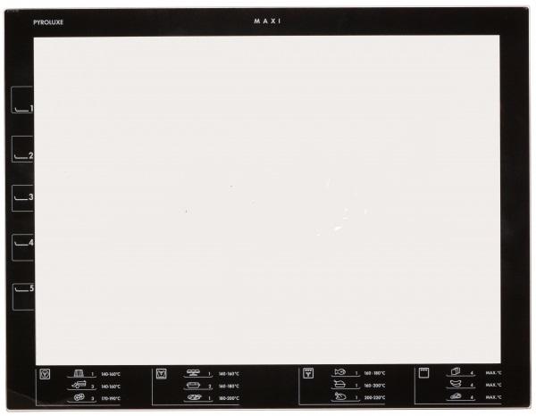 5616107099 Стекло двери внутреннее для духовки Electrolux Zanussi AEG
