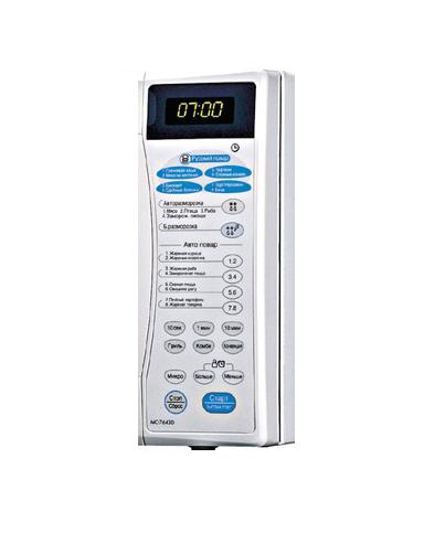 Клавиатура микроволновой LG MC-7643D 3506W1A402A