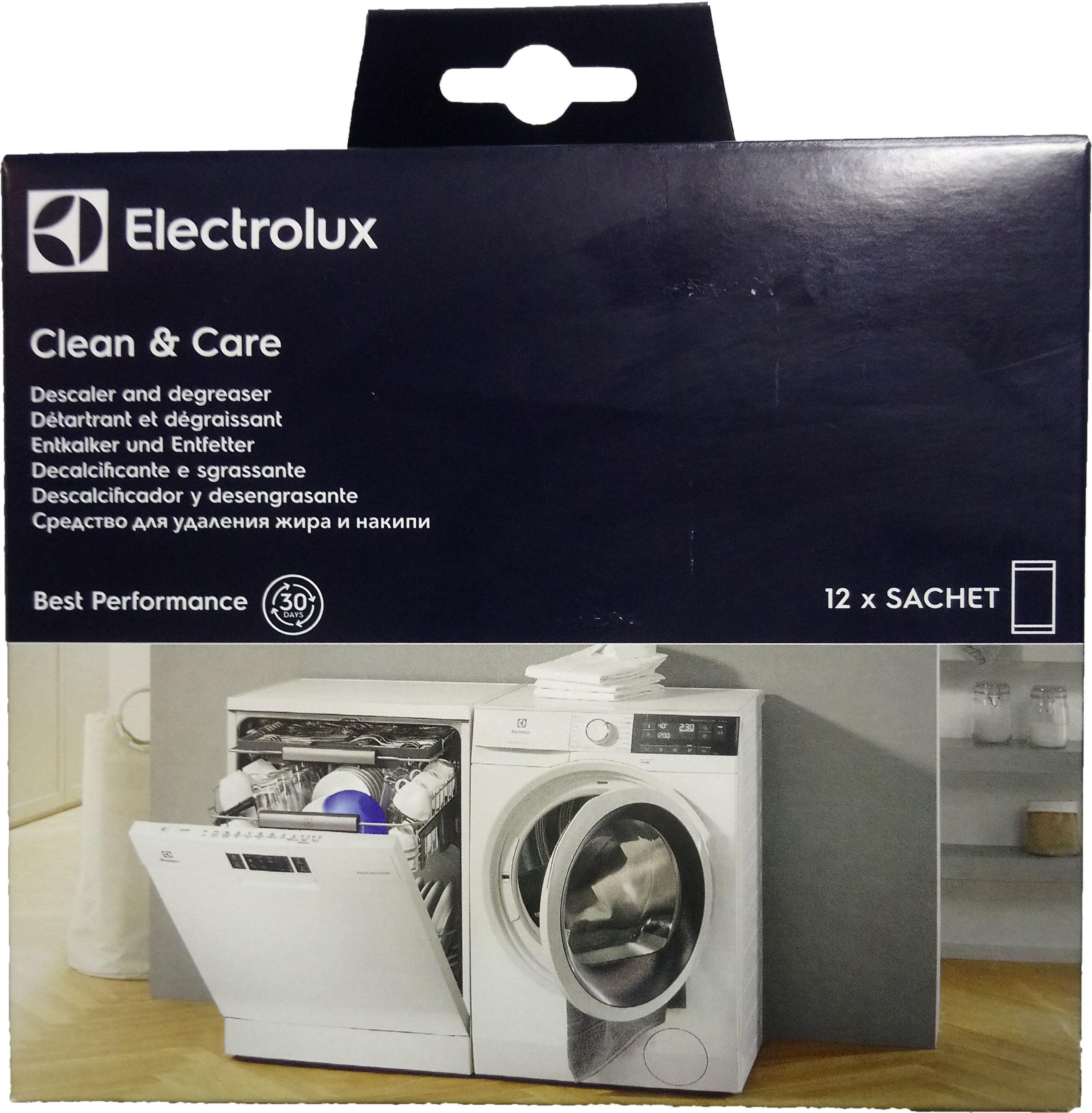 Средство (порошок) для удаления накипи Electrolux 3 в 1 — 12 пакетиков 9029792745