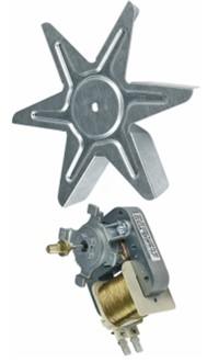 Мотор духовки Ariston Indesit C00266049 с вентилятором
