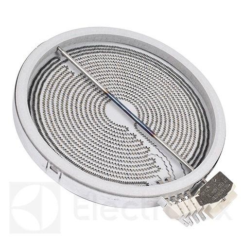 3890806213 Нагревательный элемент (конфорка)для стеклокерамической поверхности Electrolux, Zanussi, AEG