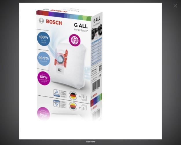Мешок пылесоса Bosch 17003048
