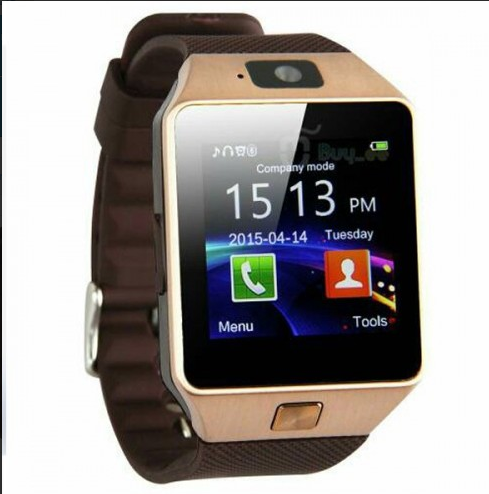 Смарт-часы Smart Watch Phone DZ09 Gold
