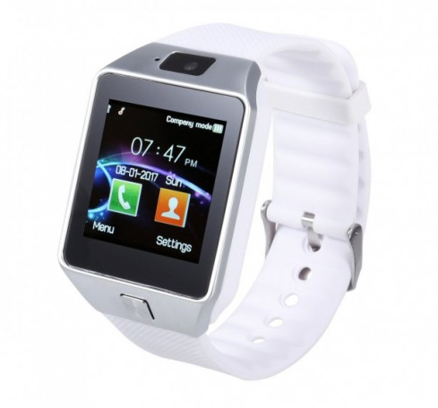 Смарт-часы Smart Watch Phone DZ09 White