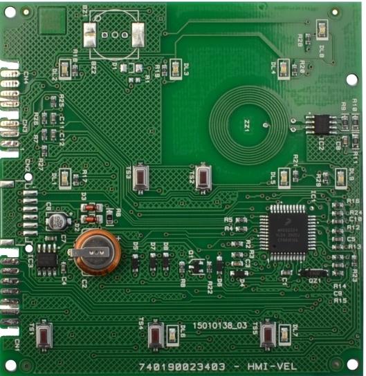 Плата бойлера Ariston индикация EVO 65116360