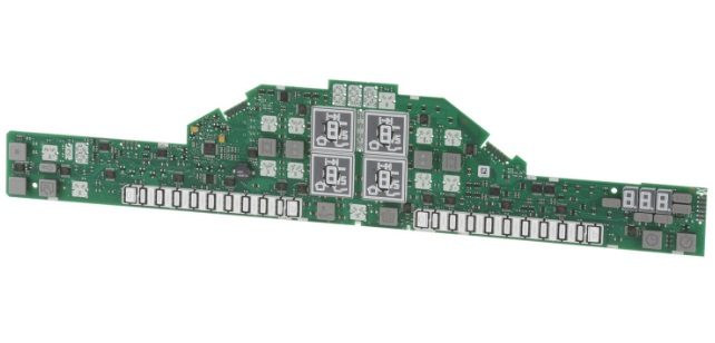 Плата варочной Bosch 11033177 сенсорная